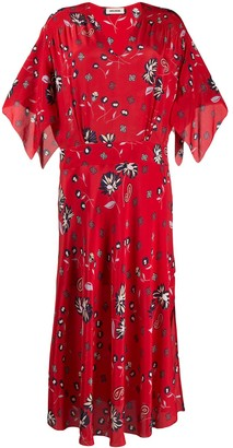 Zadig & Voltaire Rap Daisy print maxi dress