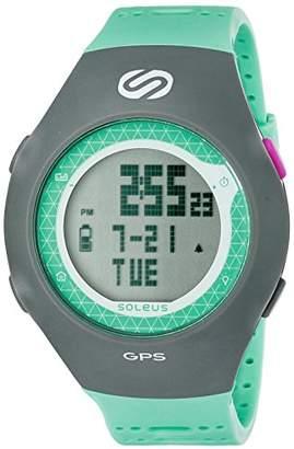 Soleus Unisex SG010-345 GPS Turbo Digital Display Quartz Grey Watch