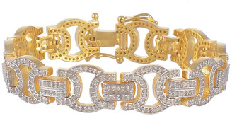 Forever Creations Usa Inc. Forever Creations Gold Over Silver 3.50 Ct. Tw. Diamond Bracelet