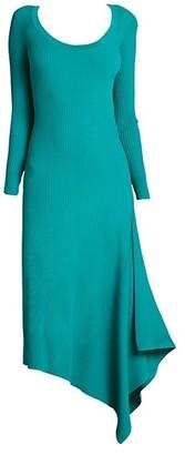 A.L.C. Olivia Scoopneck Knit Midi Dress