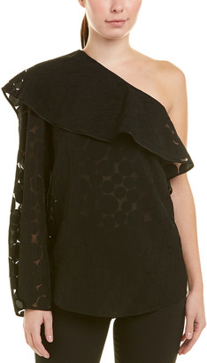 Diane von Furstenberg One-Shoulder Top