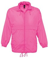 "SOLS Unisex Surf Windbreaker Lightweight Jacket (L (41-42"" Chest))"