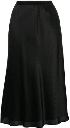 Mes Demoiselles Polka-Dot Print Skirt
