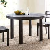 west elm Portside Round Dining Table - Weathered Café