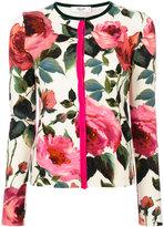 Blugirl floral print cardigan - women - Polyamide/Polyester/Spandex/Elastane/Viscose - 42