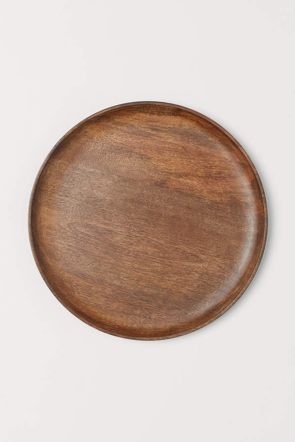 H&M Large Wooden Tray