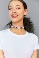 Venessa Arizaga Shell We Dance Choker Necklace