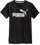 Puma Boys' Logo Tee