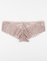 Full Tilt Lattice Back Lace Panties