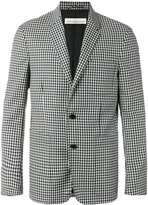 Golden Goose Deluxe Brand checked blazer - men - Polyester/Cupro/Viscose/Virgin Wool - S