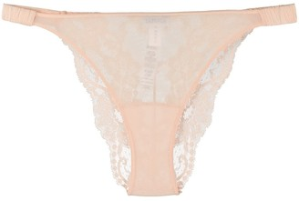 La Perla Scalloped Lace Thong