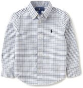 Ralph Lauren Little Boys 2T-7 Long-Sleeve Checked Oxford Shirt