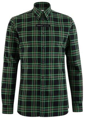 Givenchy Tartan shirt