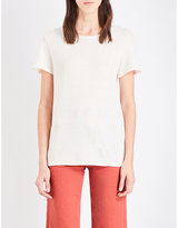MiH Jeans Nora cotton and linen-blend t-shirt