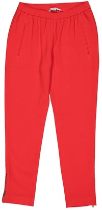 Stella McCartney Stella Mc Cartney Red Viscose Trousers