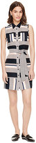 Kate Spade Bay stripe sleeveless dress