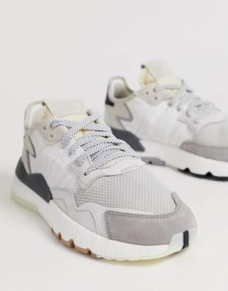 adidas Nite Jogger Trainers White CG5950
