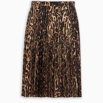 Burberry Animal print skirt