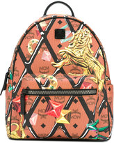 MCM printed backpack - women - Leather - One Size
