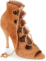 Tabitha Simmons Bonai Perforated Lace-Up Booties