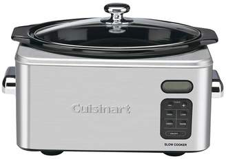 Cuisinart 6.5-Quart Programmable Stainless Steel Slow Cooker