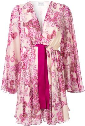 Giambattista Valli Silk Bow Detail Dress