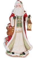 Fitz & Floyd Crimson Holiday Santa Figurine