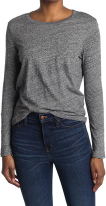 Madewell Crew Neck Long Sleeve T-Shirt