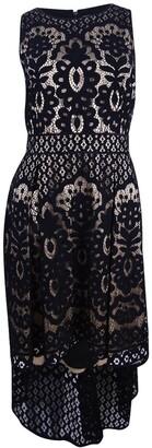 Vince Camuto Women's Sleeveless High Low Dress