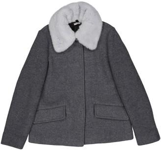 Miu Miu Grey Wool Coats