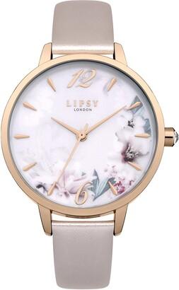 Lipsy Womens Analogue Classic Quartz Watch with PU Strap LP547