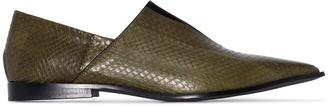 Haider Ackermann Babouche textured loafers