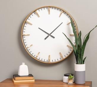 Pottery Barn Marble Hill Oversized Clock