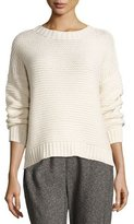 Eileen Fisher Fisher Project Lofty Recycled Cashmere Top