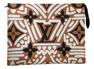 Louis Vuitton Poche toilette Brown Cloth Travel bags