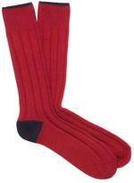 J.Mclaughlin Contrast Socks