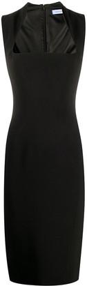 Thierry Mugler Square-Neck Pencil Dress