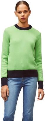 Tory Burch Cashmere Color-Block Sweater
