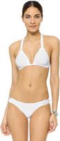 Vix Paula Hermanny Solid White Chris Bikini Top