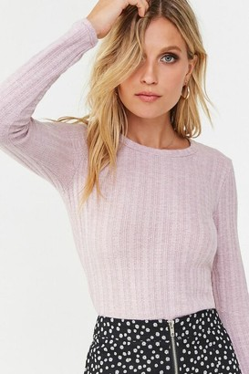 Forever 21 Ribbed Round Neck Top