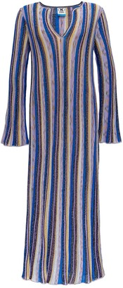 M Missoni Long Lurex Dress