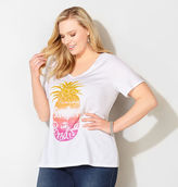 Avenue Paradise Pineapple Graphic Tee