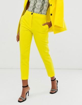 ASOS DESIGN pop slim suit pants