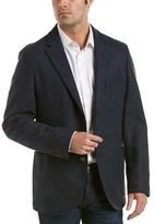J.Mclaughlin J. Mclaughlin Lisbon Wool Sportcoat.