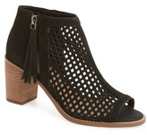 Vince Camuto Women's Tresin Perforated Open-Toe Bootie