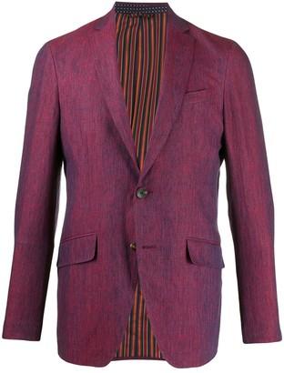 Etro Long Sleeve Button Down Blazer