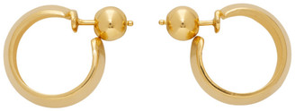 Sophie Buhai Gold Small Zora Hoops
