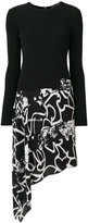 Proenza Schouler printed asymmetric skirt dress