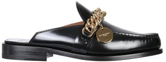 Givenchy Chain-Detailed Slip-On Loafers