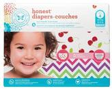 The Honest Company Girl Diaper Club pack, Chevron & Cherries